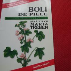 MARIA  TREBEN  -  BOLI  DE PIELE  ( format mai mare, cu ilustratii ) *