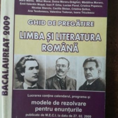 Ghid de pregatire Limba si literatura romana 2009- Eleonora Bulboaca, Gina Camarasu