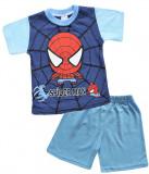 Pijama de vara cu model Spider man