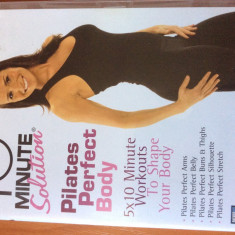 PILATES PERFECT BODY - 10 Min Solution - DVD ORIGINAL, Engleza