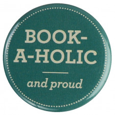 Insigna - Book-A-Holic and proud | Random House
