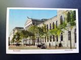 AKVDE20 - Carte postala - Vedere - Bucuresti - Universitatea - Masina de epoca, Circulata, Printata