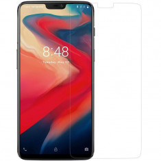 Folie protectie transparenta 4smarts Second Glass OnePlus 6