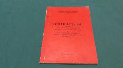 INSTRUCȚIUNI PRIVIND LUPTA VÂNĂTORILOR DE TANCURI/1971 foto