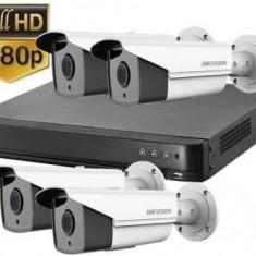 Kit supraveghere video HD Turbo hikvision, 4