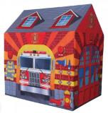 Cort de Joaca pentru Copii tip Garaj Pompieri Multicolor, Interior sau Exterior