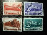 URSS / RUSIA 1949 SERIE TRENURI
