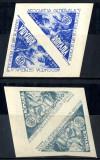 1946 LP182 serie Asociatia Generala a Inginerilor din Romania (pereche) MNH, Meserii, Nestampilat