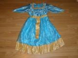 Costum carnaval serbare printesa merida pentru copii de 4-5 ani, Din imagine