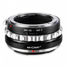 K&F Concept NIK(G)-Nik Z adaptor montura de la Nikon G la Nikon Z6 Z7 KF06.369