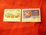 2 Timbre URSS 1963 Antarctica , 4 si 6 kop, Nestampilat