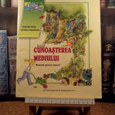 """Dumitra Radu - Cunoasterea mediului manual pentru clasa I """"A5787"""", Clasa 1, Alte materii"""