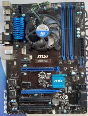 Kit I7 MSI Z97 PC Mate+ I7 4790 3,60Ghz + Cooler Intel foto