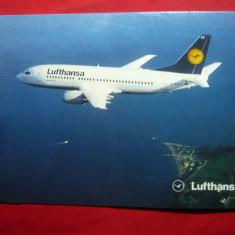 Ilustrata Avion Boeing 737-300 - Lufthansa