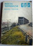 1989-1990 Mersul trenurilor de calatori CFR, Caile Ferate Romane