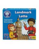 Joc Educativ Atractii Turistice Landmark Lotto