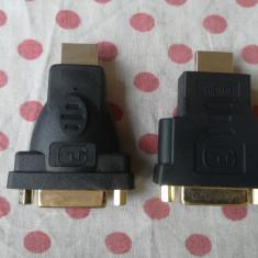 Mufa adaptor Convertor de la HDMI la DVI HDMI to DVI.