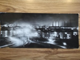 1964, Carte Postala Hunedoara, RPR, circulată Călan - Brăila, Vedere Nocturnă