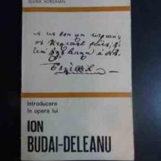 Introducere In Opera Lui Ion Budai-deleanu - Elvira Sorohan ,542310
