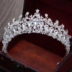 Diadema / tiara mireasa Pure Diamonds foto