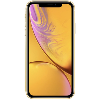 IPhone XR Dual Sim eSim 256GB LTE 4G Galben 3GB RAM foto