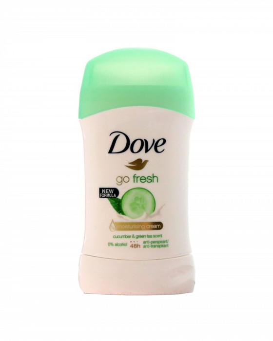 Deodorant antiperspirant stick Dove Go Fresh Cucumber&Green Tea 48h 40ml