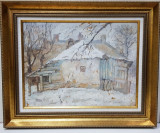 Casa taraneasca - Semnat indescifrabil
