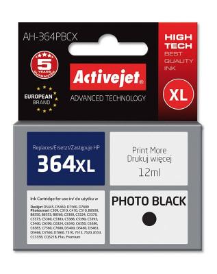 Cartus compatibil hp364 xl photo black pentru cb322ee, premium activejet, garantie 5 ani foto