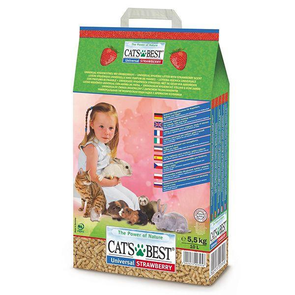 Aşternut Cats Best Universal Strawberry 10 L