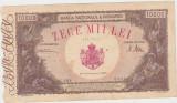 ROMANIA 10000 lei DECEMBRIE 1945 AVF