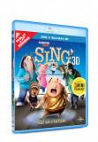 Hai sa cantam! / Sing - BLU-RAY 3D + DVD Mania Film