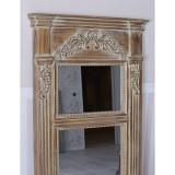 Oglinda Empire maro antichizata SAX013, Baroc