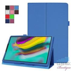 Husa Samsung Galaxy Tab A 10,1 2019 T515 Flip Cu Stand Albastra