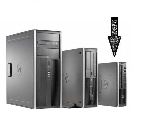 Calculator HP Compaq Elite 8000 Desktop USDT, Intel Core 2 Duo E8400 3.0 GHz, 4 GB DDR3, 250 GB HDD SATA, DVDRW