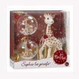 Set cadou Primul meu Craciun Girafa Sophie - Vulli, Cadouri pentru copii, Cadouri Craciun