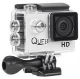 Camera Video de Actiune Quer KOM0903, Filmare Full HD, Waterproof (Argintie)