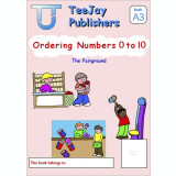TeeJay Mathematics CfE Early Level Ordering Numbers 0 to 10: The Fairground (Book A3)