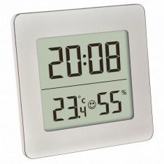 Termometru si higrometru digital cu ceas si alarma TFA 30.5038.54 Children SafetyCare