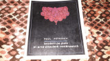 BRODERII PE PIELE IN ARTA POPULARA ROMANEASCA ED.MERIDIANE 1968 TIRAJ 1240 BUC