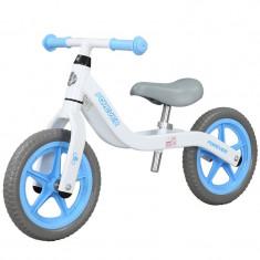 Bicicleta fara pedale (pedagogica) FIVE Libra scaun reglabil Alb Bleu