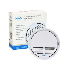 Aproape nou: Senzor de fum wireless PNI A023, compatibil cu Sistem de alarma wirele