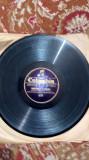 Disc ebonita COLUMBIA ,,Somewhere in HAWAII/Hawaiian guitar duet.anii 40-50