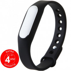Bratara fitness iUni MI1, Bluetooth, Activity and Sleep, Negru