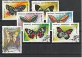 Fauna ,fluturi ,Rep Malgase ., Stampilat