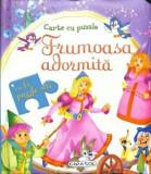 Carte cu puzzle - Frumoasa adormita - Cu 6 puzzle-uri/***, Girasol