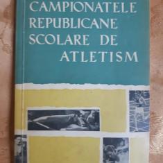 CAMPIONATELE REPUBLICANE SCOLARE DE ATLETISM - O. BANATAN