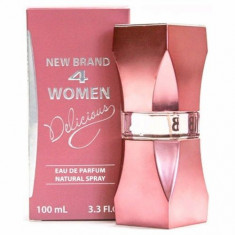 Parfum New Brand 4 Women Delicious 100ml EDP / Replica Carolina Herrera- 212 Vip Rose