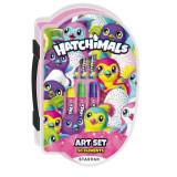 Set Starpak desen si pictura Hatchimals 50 elemente