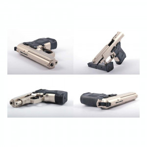 Pistol Zoraki 914 Full Metal Negru|Nikel Blank(Oarbe) Gaz Nu Airsoft