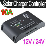 Regulator solar. Controller solar panouri solare  fotovoltaice 12/24 V - 10A